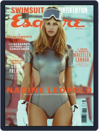Esquire  México (Digital) February 1st, 2019 Issue Cover