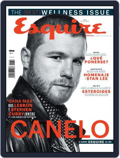 Esquire  México (Digital) December 1st, 2018 Issue Cover