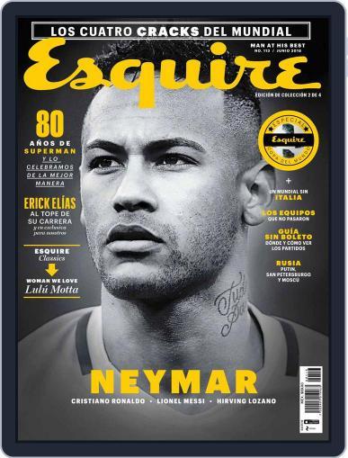 Esquire  México (Digital) June 1st, 2018 Issue Cover