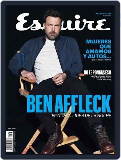 Esquire México November 1st, 2017 Digital Back Issue Cover