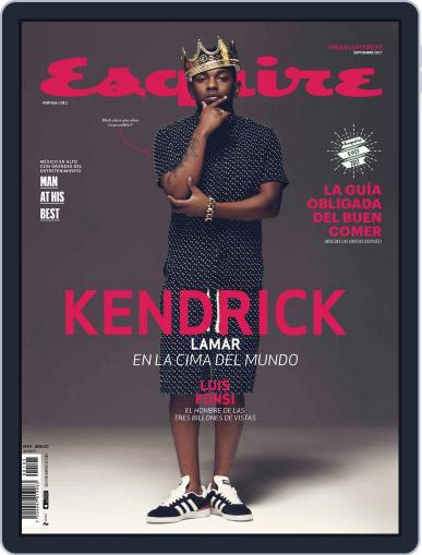 Esquire  México (Digital) September 1st, 2017 Issue Cover