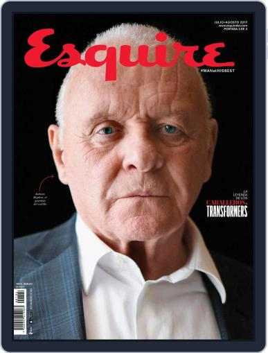 Esquire  México (Digital) July 1st, 2017 Issue Cover