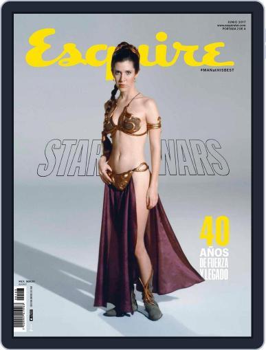 Esquire México June 1st, 2017 Digital Back Issue Cover