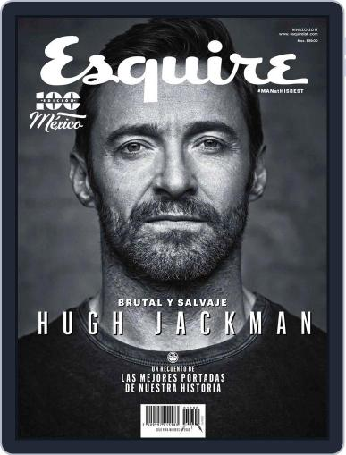 Esquire México March 1st, 2017 Digital Back Issue Cover