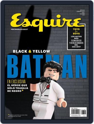 Esquire  México (Digital) February 1st, 2017 Issue Cover
