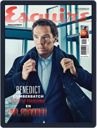 Esquire  México (Digital) November 1st, 2016 Issue Cover