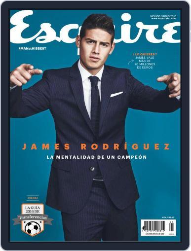 Esquire  México (Digital) June 13th, 2016 Issue Cover