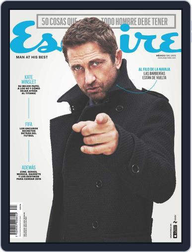 Esquire  México (Digital) December 14th, 2015 Issue Cover