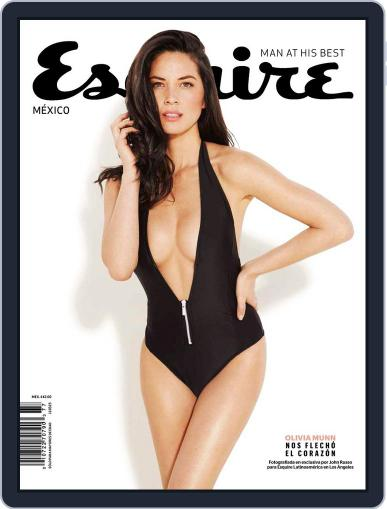 Esquire México February 1st, 2015 Digital Back Issue Cover