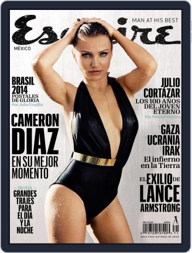 Esquire  México (Digital) August 12th, 2014 Issue Cover