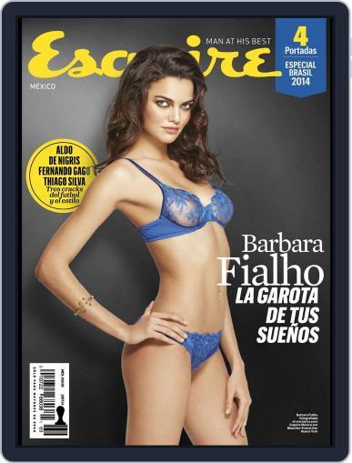Esquire  México (Digital) June 12th, 2014 Issue Cover