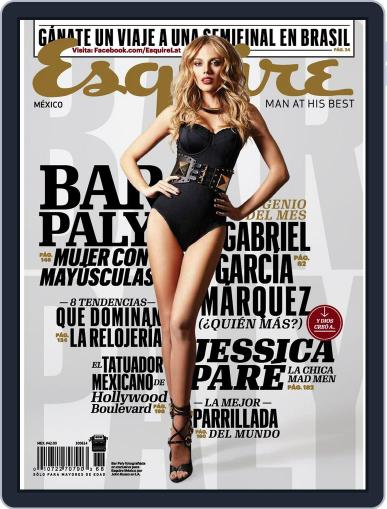 Esquire  México (Digital) May 12th, 2014 Issue Cover