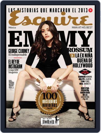 Esquire  México (Digital) December 11th, 2013 Issue Cover