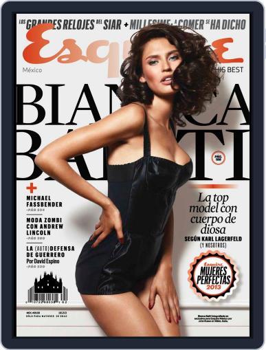 Esquire  México (Digital) November 14th, 2013 Issue Cover