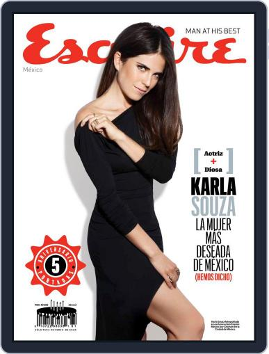 Esquire  México (Digital) October 10th, 2013 Issue Cover