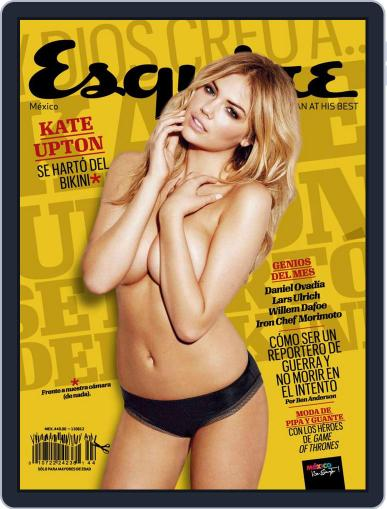Esquire  México (Digital) May 10th, 2012 Issue Cover