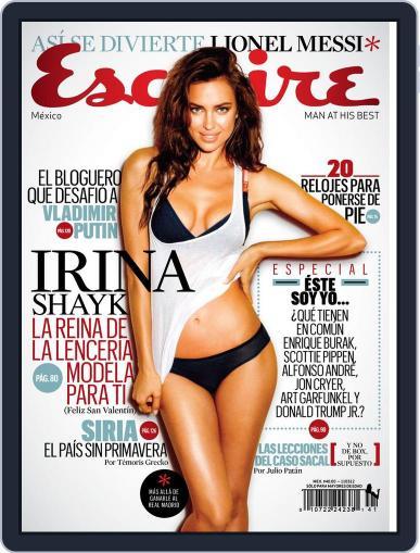 Esquire  México (Digital) February 9th, 2012 Issue Cover