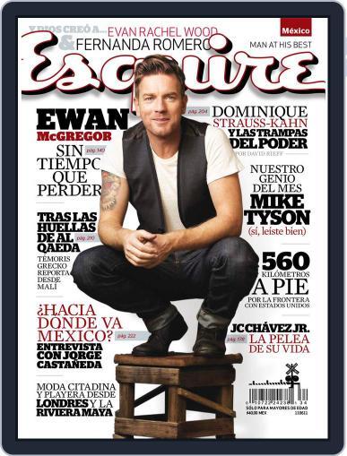 Esquire  México (Digital) June 9th, 2011 Issue Cover