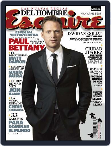 Esquire  México (Digital) April 10th, 2011 Issue Cover
