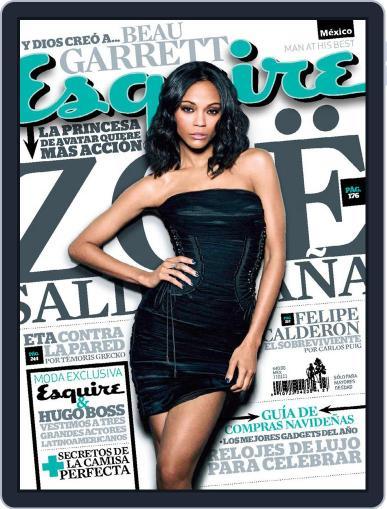 Esquire  México (Digital) December 28th, 2010 Issue Cover