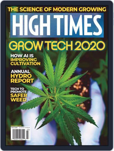 High Times March 1st, 2020 Digital Back Issue Cover