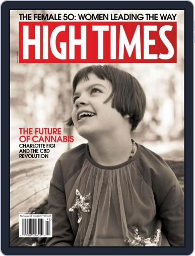 High Times December 2nd, 2019 Digital Back Issue Cover
