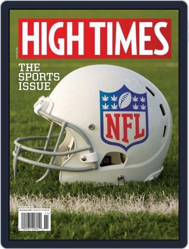 High Times (Digital) November 1st, 2019 Issue Cover
