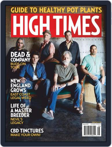 High Times (Digital) August 1st, 2019 Issue Cover