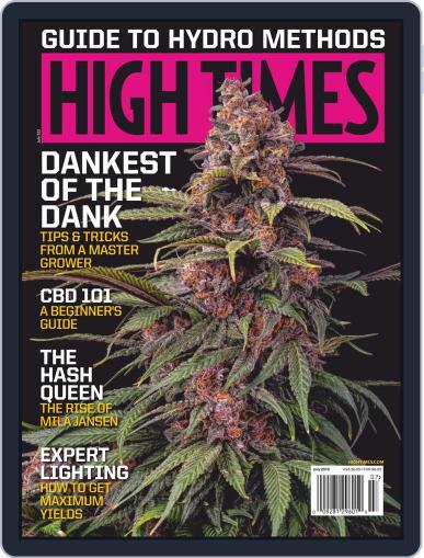 High Times July 1st, 2019 Digital Back Issue Cover
