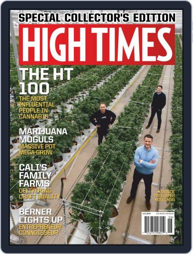 High Times (Digital) June 1st, 2019 Issue Cover