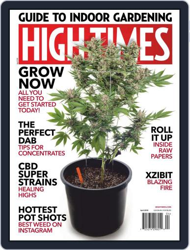 High Times (Digital) April 1st, 2019 Issue Cover