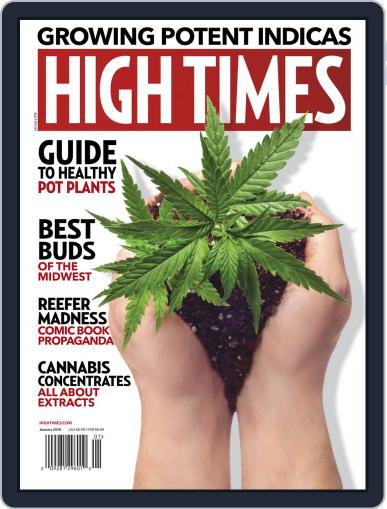 High Times (Digital) January 1st, 2019 Issue Cover