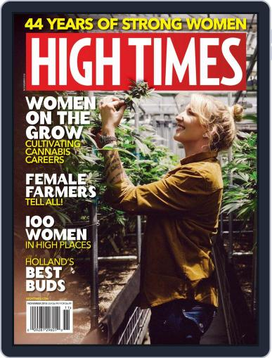 High Times (Digital) November 1st, 2018 Issue Cover