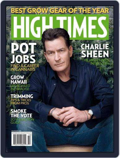 High Times October 1st, 2018 Digital Back Issue Cover