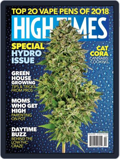 High Times (Digital) February 1st, 2018 Issue Cover