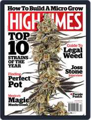 High Times (Digital) Subscription December 1st, 2017 Issue