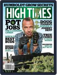 High Times (Digital) Subscription October 1st, 2017 Issue