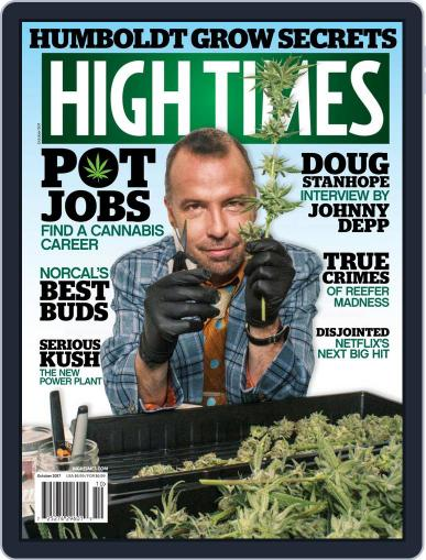 High Times October 1st, 2017 Digital Back Issue Cover