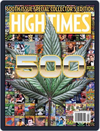 High Times (Digital) September 1st, 2017 Issue Cover