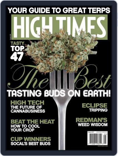 High Times (Digital) August 1st, 2017 Issue Cover