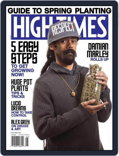 High Times (Digital) June 1st, 2017 Issue Cover