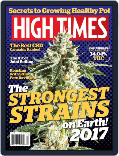 High Times May 1st, 2017 Digital Back Issue Cover