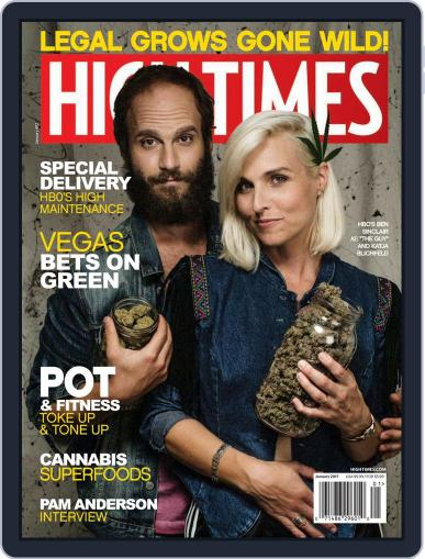 High Times January 1st, 2017 Digital Back Issue Cover