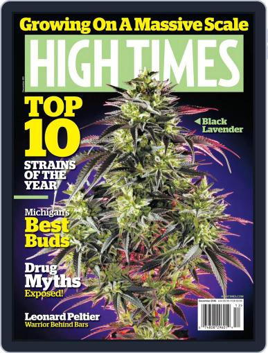 High Times (Digital) December 1st, 2016 Issue Cover