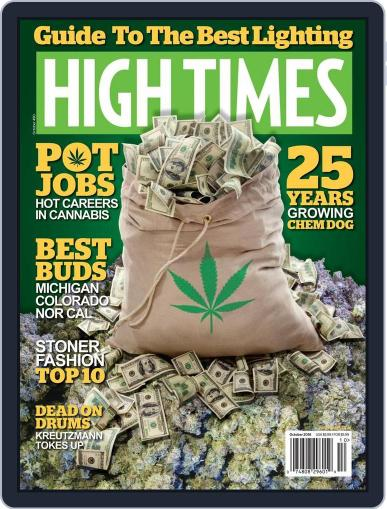 High Times October 1st, 2016 Digital Back Issue Cover
