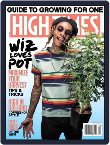 High Times (Digital) June 7th, 2016 Issue Cover