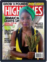 High Times (Digital) Subscription April 1st, 2016 Issue