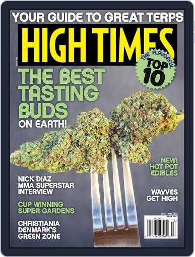 High Times (Digital) March 1st, 2016 Issue Cover