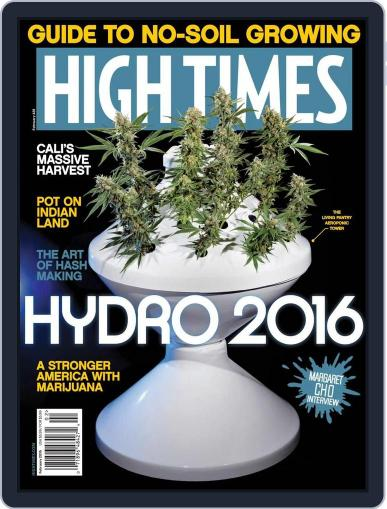 High Times December 9th, 2015 Digital Back Issue Cover