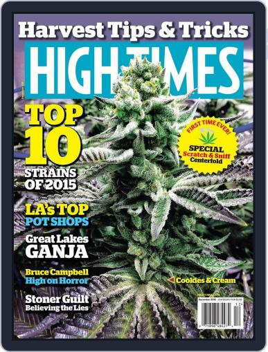 High Times (Digital) December 1st, 2015 Issue Cover
